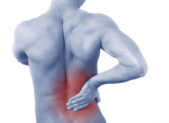lower back pain running